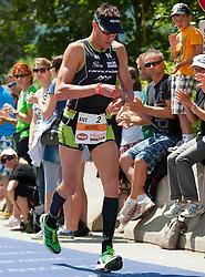 03.07.2011, Strandbad, Klagenfurt, AUT, Austria Ironman 2011, im Bild Michael Weiss, AUT, EXPA Pictures © 2011, PhotoCredit: EXPA/ M. Kuhnke