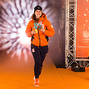 NLD/Amsterdam/20180226 - Thuiskomst TeamNL, Suzanne Schulting