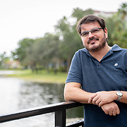 OCTOBER 6, 2018--WESTON, FLORIDA<br /> Rodrigo Constantino, a Brazilian economist and writer who is a conservative columnist published in magazines and newspapers. <br /> (Photo by Angel Valentin/Freelance)