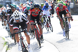 June 17, 2017 - Schaffhausen, Suisse - SCHAFFHAUSSEN, SWISS - JUNE 17 : VAN AVERMAET Greg (BEL) Rider of BMC Racing Team, WELLENS Tim (BEL) Rider of Team Lotto - Soudal during stage 8 of the Tour de Suisse cycling race, a stage of 100 kms between Schaffhaussen and Schaffhaussen on June 17, 2017 in Schaffhaussen, Swiss, 17/06/2017 (Credit Image: © Panoramic via ZUMA Press)