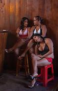 Local Prostitutes<br /> Bellavista, Highlands of Santa Cruz Island, GALAPAGOS ISLANDS<br /> ECUADOR.  South America