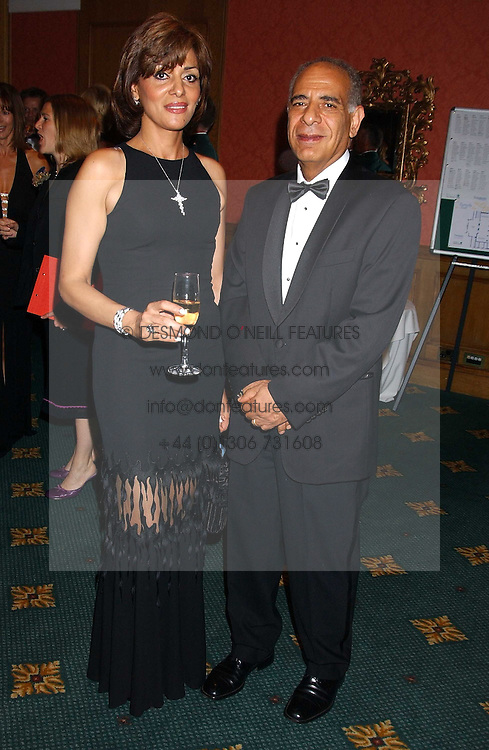 DR MAGDY &amp; DR RITA ISHAK he was chairman of the ball at the Butterfly Ball in aid of the NSPCC held at The Intercontinental Hotel, Park Lane, London on 9th September 2005.<br />