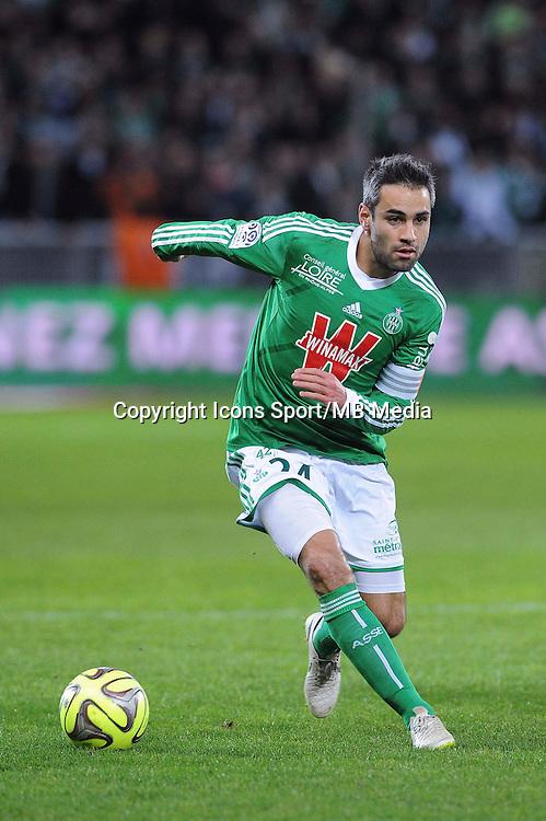 Loic PERRIN  - 21.12.2014 - Saint Etienne / Evian Thonon - 19eme journee de Ligue 1<br /> Photo : Jean Paul Thomas / Icon Sport