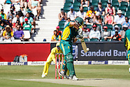 Johannesburg- South Africa v Australia 2nd ODI 2 Oct 2016