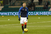 Borna Borisic warms up before the Ladbrokes Scottish Premiership match between Hibernian and Rangers at Easter Road, Edinburgh, Scotland on 19 December 2018.
