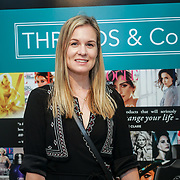 Vikki Pearson blogger Style&Minimalism attends the Threads & Co Beauty launches permanent retail concept store everything from coffee to beauty to retail therapy on 24th May 2017. by See Li