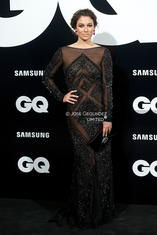 Blanca Suarez attends 'GQ Men of the Year 2012' awards on November 19, 2012 in Madrid, Spain.