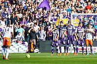 Mur Toulouse - 12.04.2015 - Toulouse / Montpellier - 32eme journee de Ligue 1 <br />Photo : Manuel Blondeau / Icon Sport