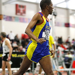 USATF Masters Indoor Championship, men's mile, 60-64 age-group race,