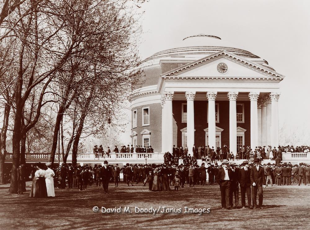 University of Virginia (UVA) Charlottesville, VA circa 1900