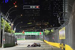 September 14, 2018 - Singapore, Singapore - Motorsports: FIA Formula One World Championship 2018, Grand Prix of Singapore, .#11 Sergio Perez (MEX, Racing Point Force India F1 Team) (Credit Image: © Hoch Zwei via ZUMA Wire)