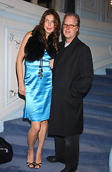 ANNABELLE BROOKS and screen writer JAMES DEARDEN at a party to celebrate the publication of 'Princesses' the six daughters of George 111 by Flora Fraser held at the Saville Club, Brook Street, London W1 on 14th September 2004.<br />