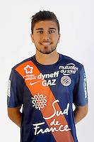Teddy CHAOUCHE - 06.10.2015 - Photo officielle Montpellier - Ligue 1<br /> Photo : De Hullessen / Mhsc / Icon Sport