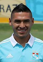 Football - Peruvian League Descentralizado - <br /> Movistar Trophy 2016 - Abertura Tournament / <br /> Club Sporting Cristal - <br /> Joel Sanchez