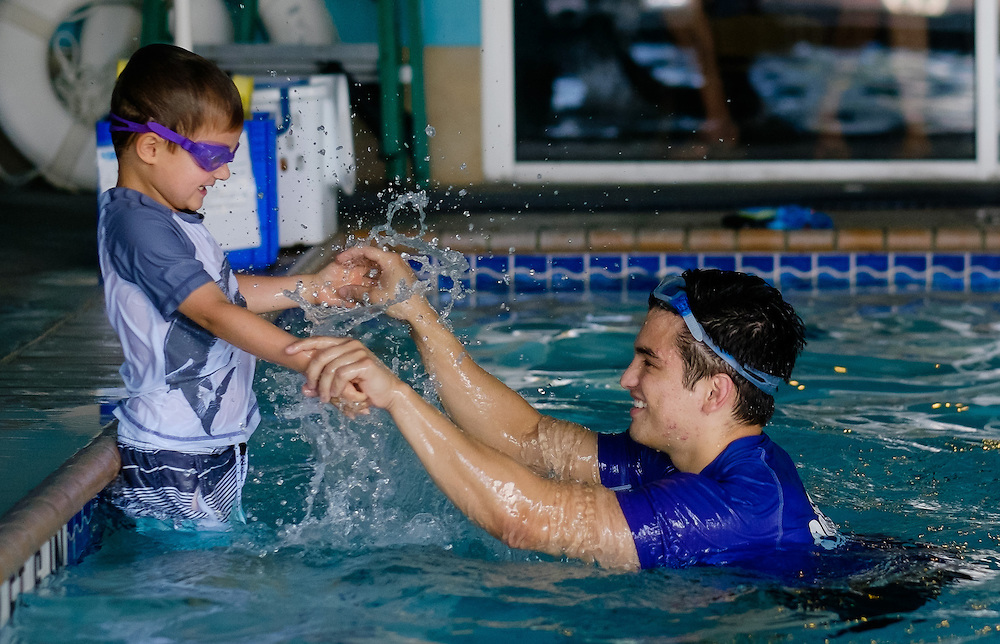 Love to Swim School photos taken Tuesday, May 19, 2015 in San Antonio. <br /> (Photo&copy;Bahram Mark Sobhani)