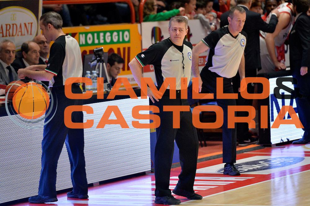 Alessandro Martolini arbitro<br /> The FlexX Pistoia Basket - Pasta Reggia Juve Caserta<br /> Lega Basket Serie A 2016/2017<br /> Pistoia, 13/02/2017<br /> Foto Ciamillo-Castoria