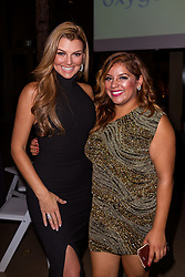 SANTA ANA, CA - OCT 10: Venezuelan model and actress Marjorie de Sousa poses with Glaudi Founder and CEO Johana Hernandez during  ParaTodos Magazine 20th Anniversary Gala at the Bower Museum on 10th of October, 2015 in Santa Ana, California. Byline, credit, TV usage, web usage or linkback must read SILVEXPHOTO.COM. Failure to byline correctly will incur double the agreed fee. Tel: +1 714 504 6870.