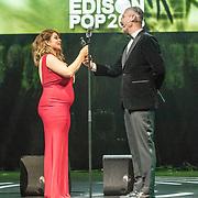 NLD/Amsterdam/20180213 - Edison Pop Awards 2018, Roxeanne Hazes