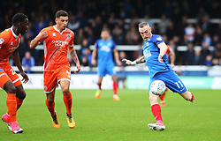 Marcus Maddison of Peterborough United scores the opening goal of the game - Mandatory by-line: Joe Dent/JMP - 28/10/2017 - FOOTBALL - ABAX Stadium - Peterborough, England - Peterborough United v Shrewsbury Town - Sky Bet League One