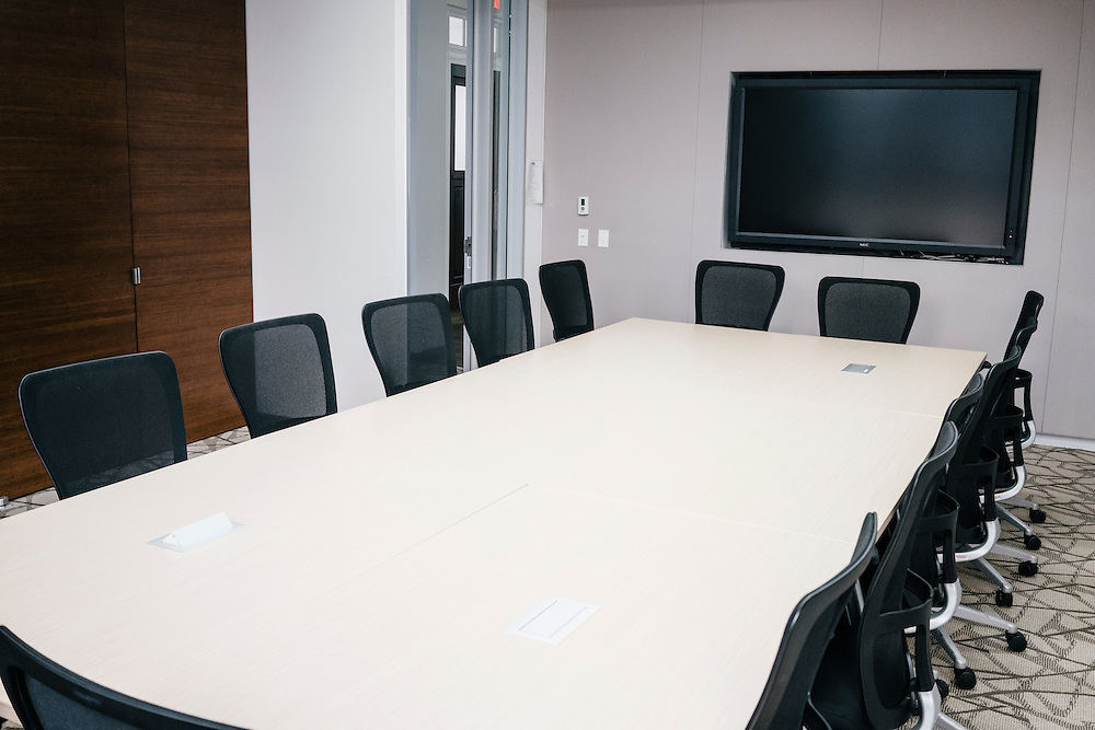 Conference room of second building.