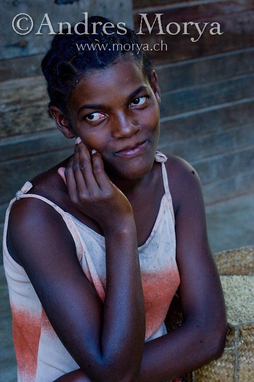 Malagasy woman, Mananara, Madagascar Image by Andres Morya