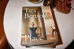 at a party to celebrate the publication of Place by Tara Bernerd held at il Pampero at The Hari, 20 Chesham Place, London, England. 8 March 2017.