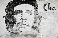 Image of Ernesto Che Guevara in El Fraile, Mayabeque, Cuba.