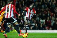 Toumani Diagouraga of Brentford during the Sky Bet Championship match between Brentford and Hull City at Griffin Park, London<br /> Picture by Mark D Fuller/Focus Images Ltd +44 7774 216216<br /> 03/11/2015
