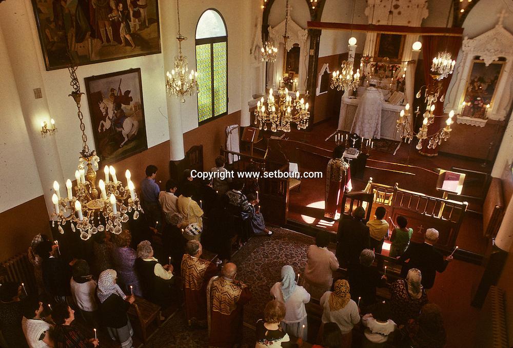 = Armenian Church . Orthodox Mass  Marseille - France     ///   Eglise Armenienne . Messe Orthodoxe  Marseille - France    +