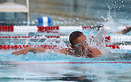 Broder Nelsen, 12, comes up for air in the boys 11-12 50 yard Freestyle event during the annual All City Competitive Swim Meet at Cherry Hill Aquatic Center in Cedar Rapids on Saturday, July 23, 2011. Swimmers ages 4 to 17 years old from all over the city competed in 74 events.