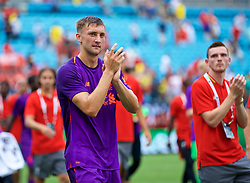 CHARLOTTE, USA - Sunday, July 22, 2018: Liverpool's Nathaniel Phillips after a preseason International Champions Cup match between Borussia Dortmund and Liverpool FC at the  Bank of America Stadium. (Pic by David Rawcliffe/Propaganda)
