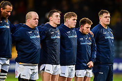 Worcester Warriors observe a minutes silence in honour of Nicolas Chauvin - Mandatory by-line: Ryan Hiscott/JMP - 15/12/2018 - RUGBY - Sixways Stadium - Worcester, England - Worcester Warriors v Pau - European Rugby Challenge Cup