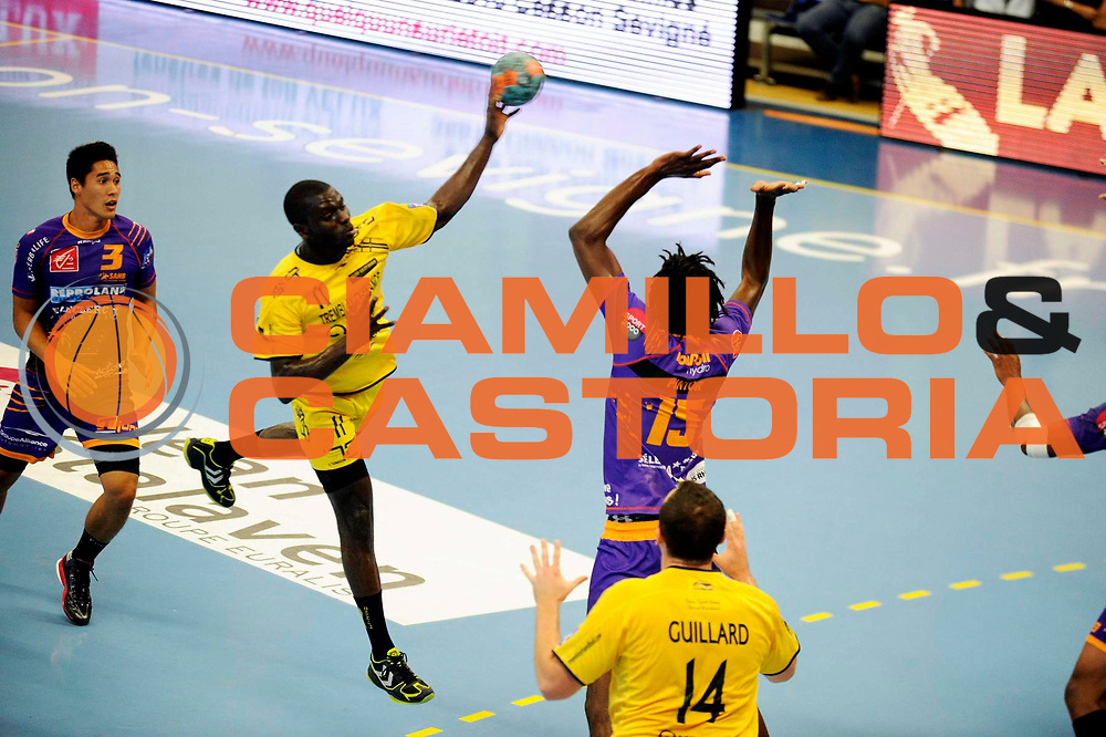 DESCRIZIONE : Handball Tournoi de Cesson Homme<br /> GIOCATORE : SALL Ibrahima<br /> SQUADRA : Tremblay<br /> EVENTO : Tournoi de cesson<br /> GARA : Tremblay Selestat<br /> DATA : 07 09 2012<br /> CATEGORIA : Handball Homme<br /> SPORT : Handball<br /> AUTORE : JF Molliere <br /> Galleria : France Hand 2012-2013 Action<br /> Fotonotizia : Tournoi de Cesson Homme<br /> Predefinita :