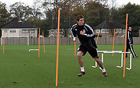 Photo: Paul Thomas.<br /> Liverpool Training session. UEFA Champions League. 21/11/2006.