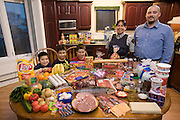 HUNGRY PLANET 2 The Melanson family consists of Peter,  Pauline, Joseph, Jacob, and Shane. The Melansons of Nunavut, Canada.