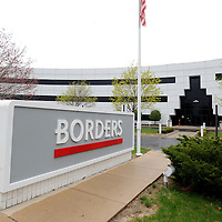 Borders headquarters located at 100 Phoenix in Ann Arbor.   Melanie Maxwell I AnnArbor.com