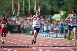 JONES Rhys, GBR, 100m, T37, 2013 IPC Athletics World Championships, Lyon, France