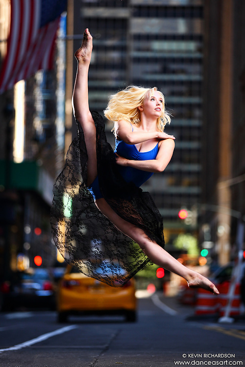 Dance As Art New York City Photography Project Midtown Manhattan with dancer, Alyssa Ness