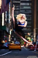 Dance As Art New York City Photography Project Midtown Manhattan with dancer, Alyssa Ness