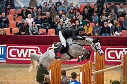 THIEME Andre (GER), Carina 560<br /> Neustadt-Dosse - CSI 2019<br /> Youngster Tour Finale 7jährige Pferde<br /> 13. Januar 2019<br /> © www.sportfotos-lafrentz.de/Stefan Lafrentz