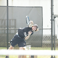 180221 AUM Men & Womens Tennis action vs Shorter