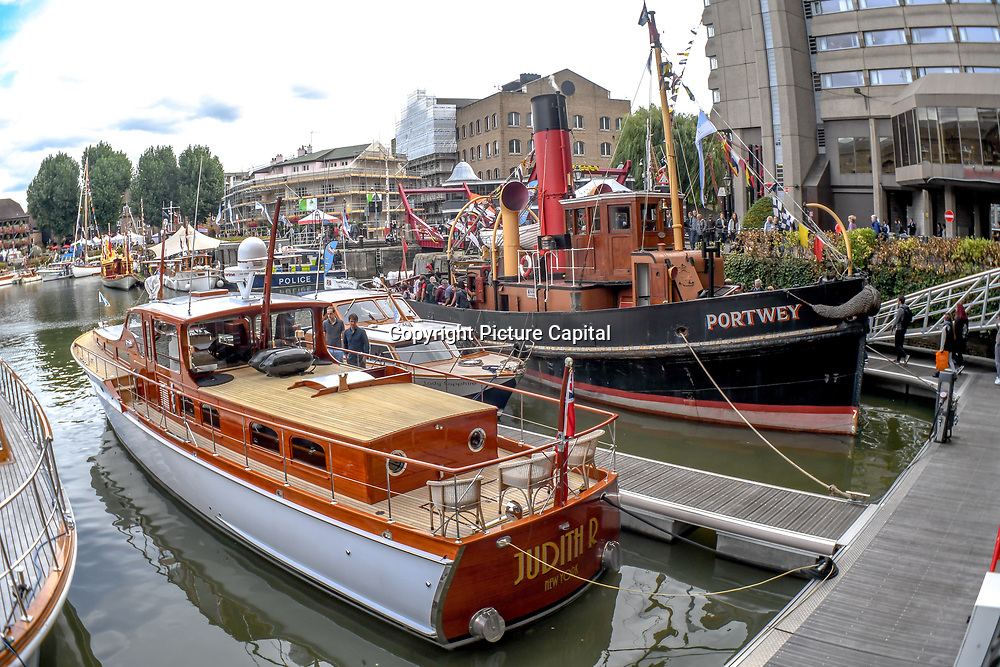 Classic Boat Festival 2018 at St. Katharine Docks on 8 September 2018, London, UK