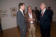 SIR NICHOLAS SEROTA; GERALD SCARFE, Opening of Rude Britannia. Tate Britain. Millbank. London. 7 June 2010. -DO NOT ARCHIVE-© Copyright Photograph by Dafydd Jones. 248 Clapham Rd. London SW9 0PZ. Tel 0207 820 0771. www.dafjones.com.