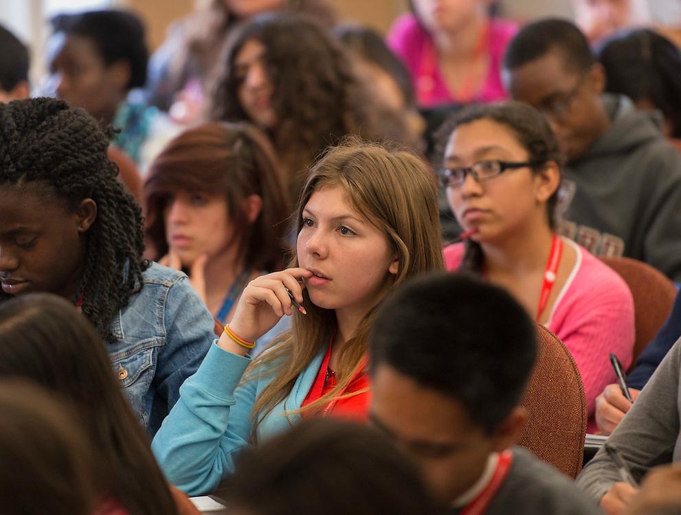 Houston ISD EMERGE students visit Boston College, June 4, 2014.