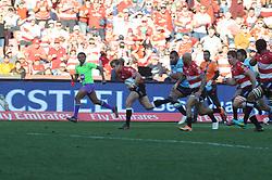 28-07-18 Emirates Airline Park, Johannesburg. Super Rugby semi-final Emirates Lions vs NSW Waratahs. 2nd half. Fullback Andries Coetzee breaks away. <br />  Picture: Karen Sandison/African News Agency (ANA)