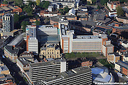 aerial photograph of Surrey House the Aviva, formerly Norwich Union offices  in Norwich Norfolk UK
