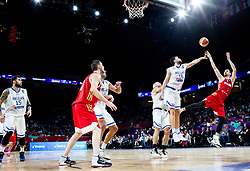 Kostas Papanikolaou of Greece vs Aleksei Shved of Russia during basketball match between National Teams of Greece and Russia at Day 14 in Round of 16 of the FIBA EuroBasket 2017 at Sinan Erdem Dome in Istanbul, Turkey on September 13, 2017. Photo by Vid Ponikvar / Sportida