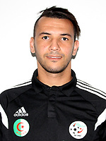 Confederation of African Football - World Cup Fifa Russia 2018 Qualifier / <br /> Algeria National Team - Preview Set - <br /> Hicham Belkaroui
