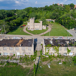 Vine Street Workhouse - 18th and Vine historic structure, Kansas City, Missouri.