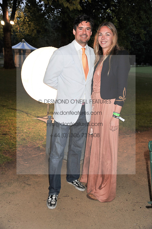 TORI COOK and EDWARD TAYLOR at the Veuve Clicquot Mint Polo in The Park after party held at The Hurlingham Club, Ranelagh Gardens, London SW6 on 5th June 2011.